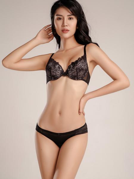 Quần lót VERA dáng bikini ren - 8102