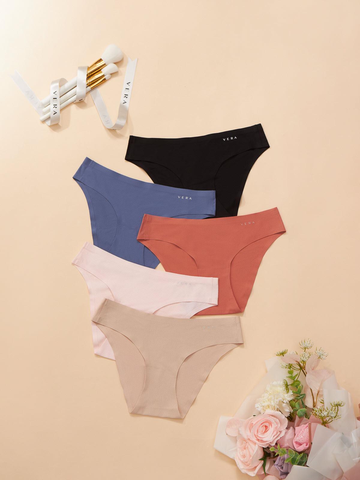 Quần lót bikini VERA nylon không đường viền - 0372