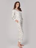 Bộ pijama Vera tay dài in họa tiết - 0345