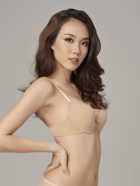 Áo ngực Misaki cúp trơn, mút vừa - 9315