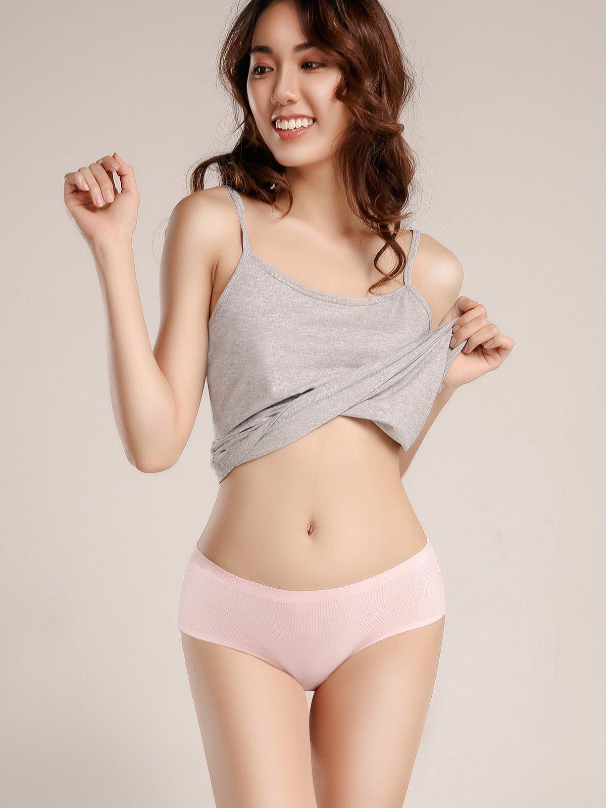 Quần lót VERA bikini No line panty lưới thoáng khí - 9134