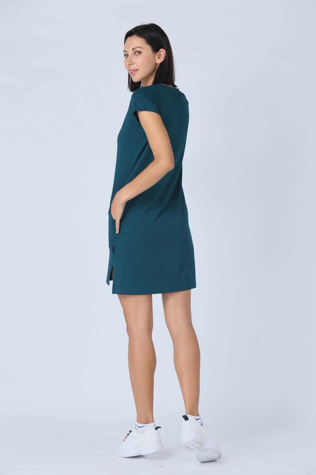 Đầm thun nữ Jockey Bamboo - 0429