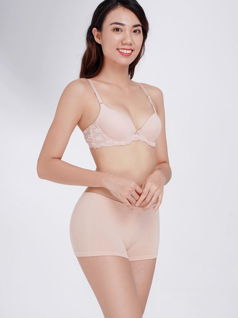 Quần lót Misaki seamless dáng boxer mặc trong váy - 9322