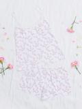 Bộ short VERA nylon in hoa - 0322