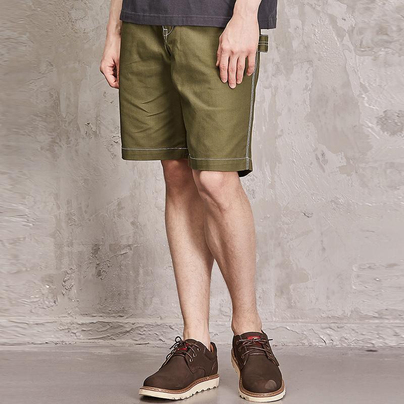 Quần shorts chỉ trắng nổi