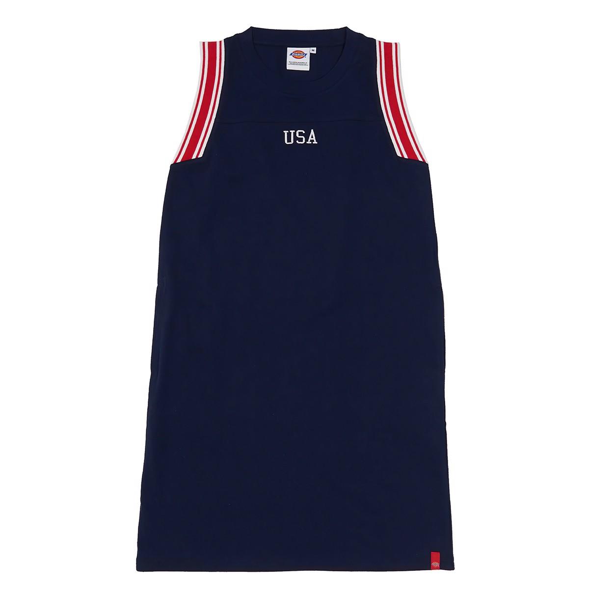 Đầm thun không tay USA