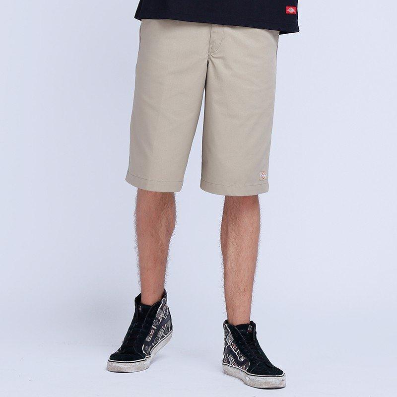 Quần shorts kaki xếp pli
