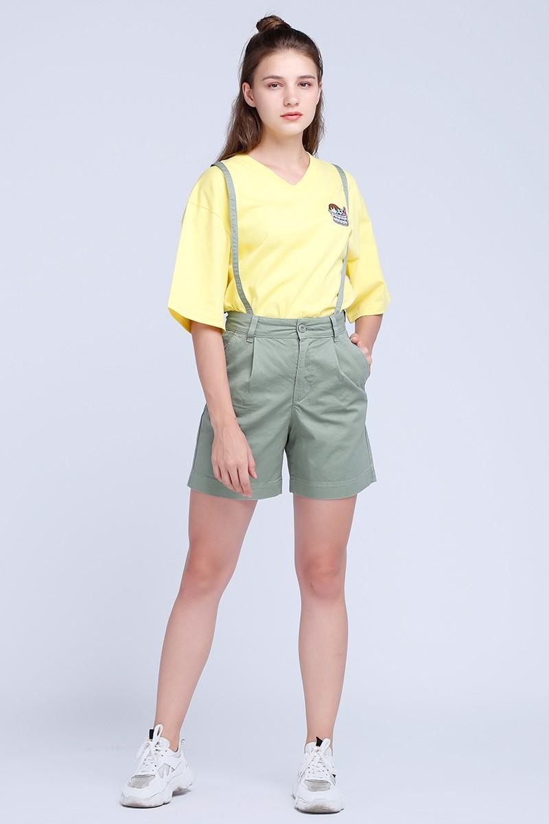 Yếm quần ngắn