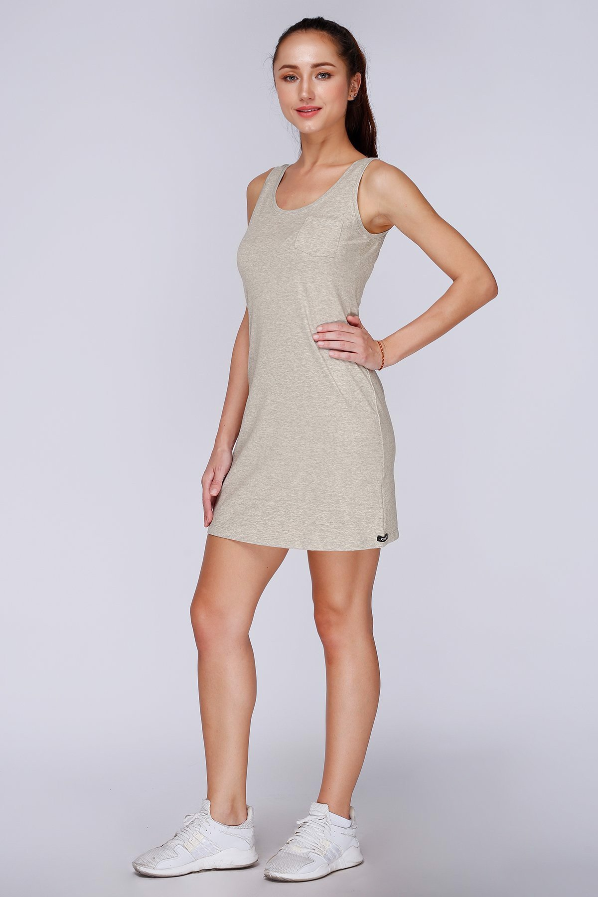 Đầm Jockey Dress nữ Cotton
