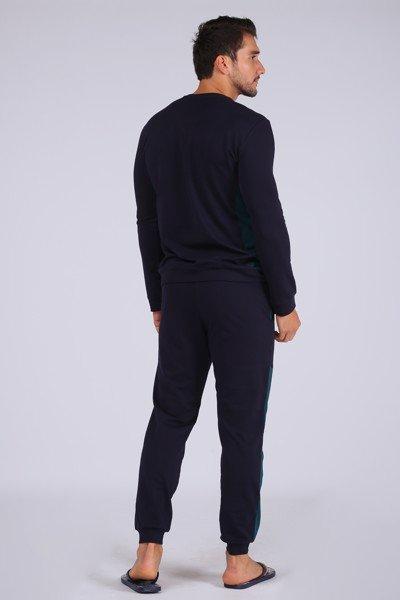 Bộ quần áo Jockey nam Light & Shadow cổ tròn - 0403