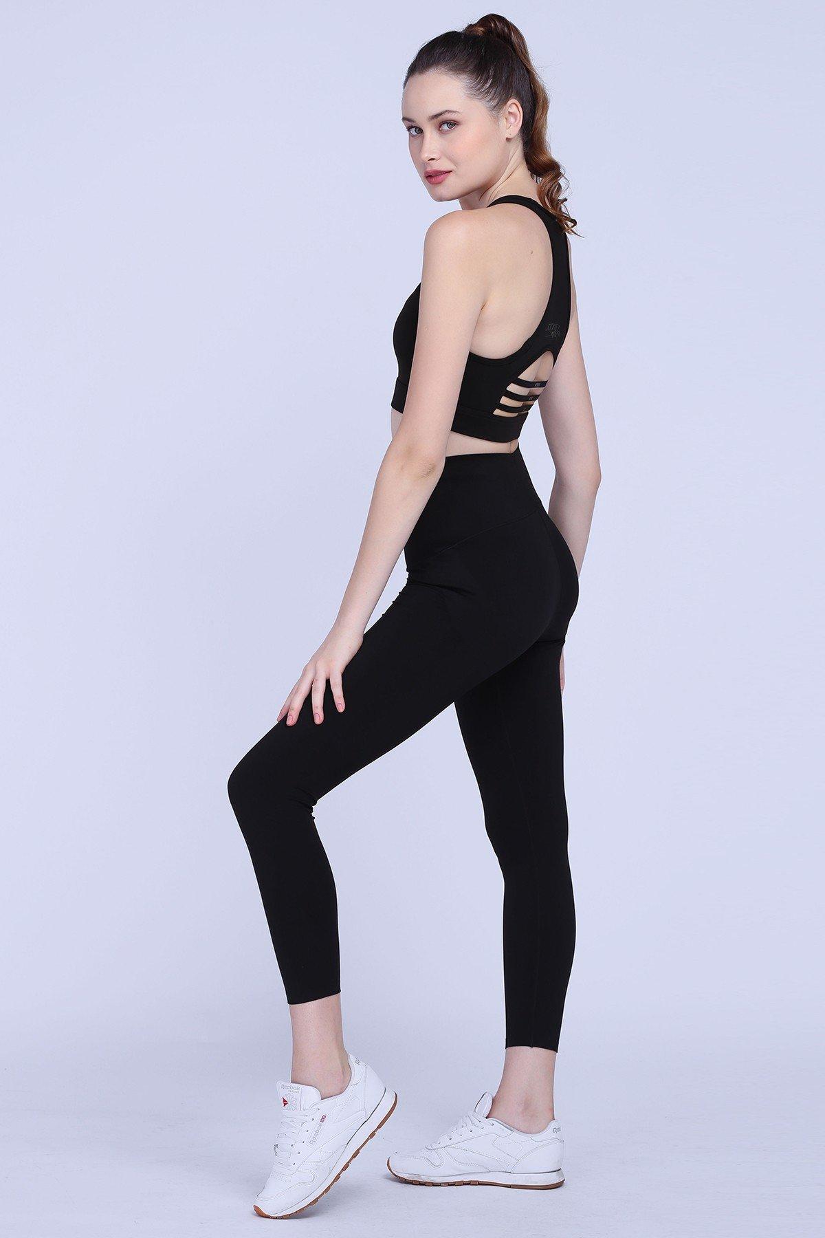 Quần legging thể thao Jockey lưng cao - 0228