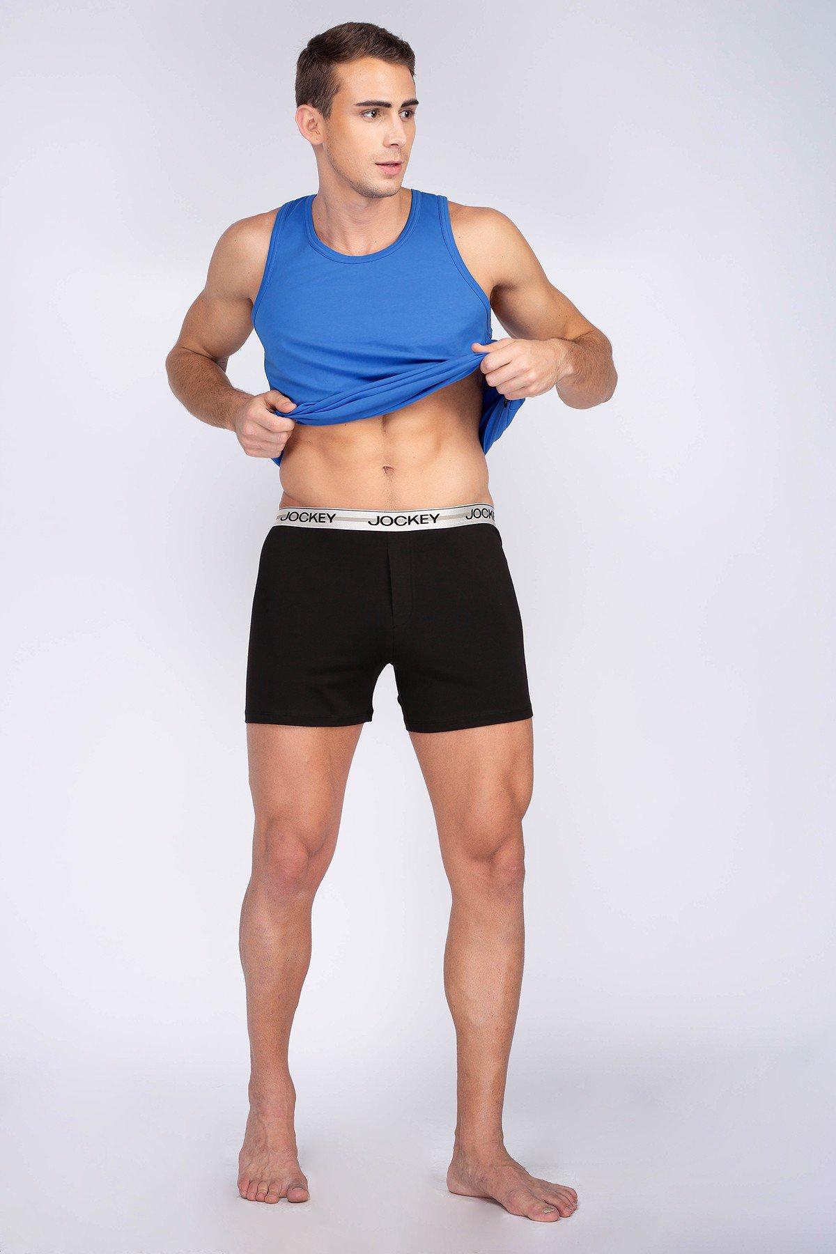 Quần Jockey Knit Boxer nam Cotton - 0205