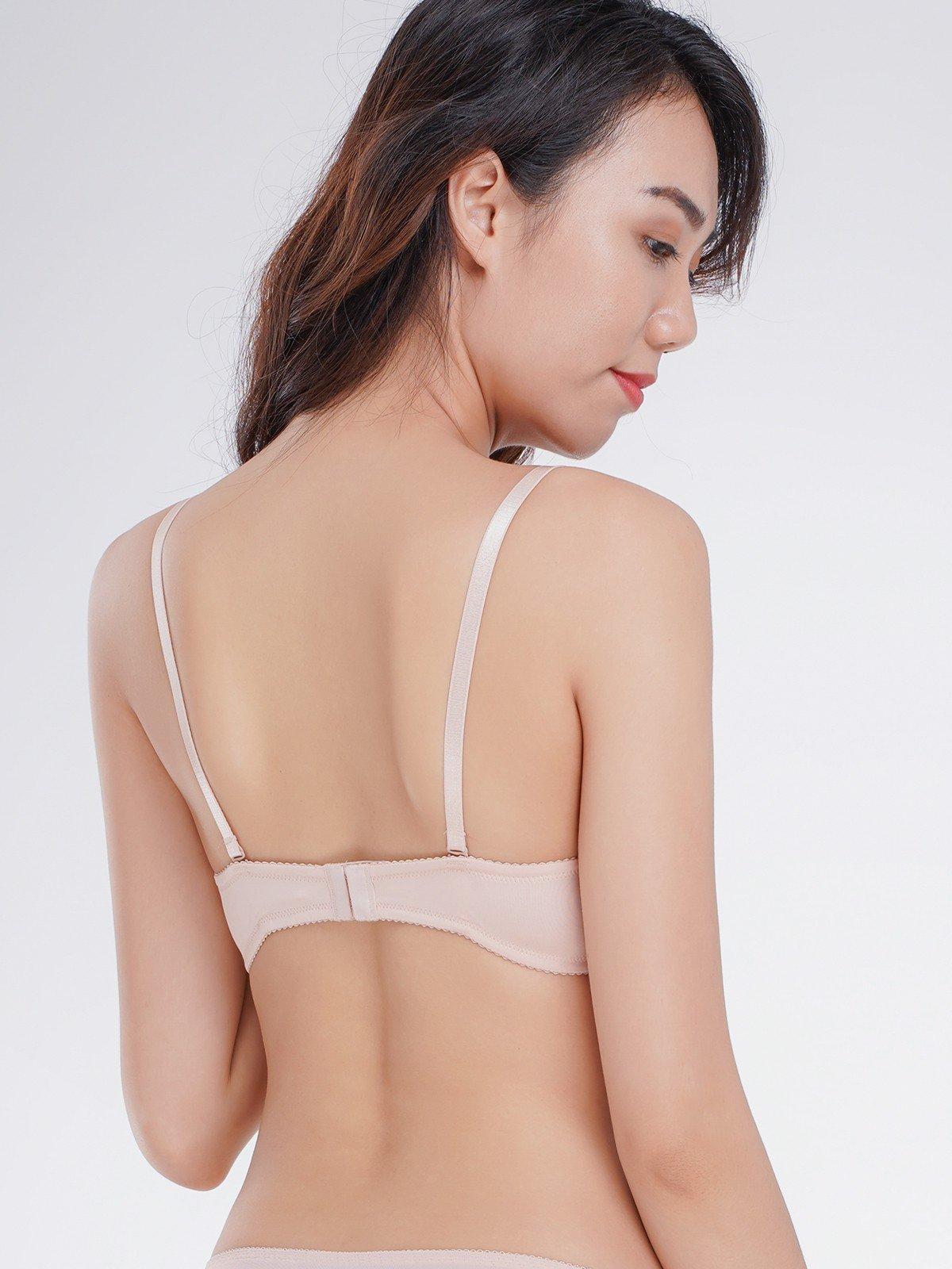 Áo ngực Misaki mút dày cúp trơn - 8315