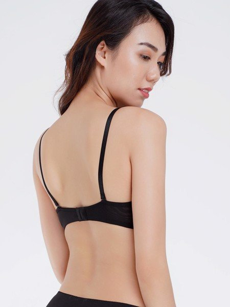 Áo ngực Misaki mút mỏng cúp trơn - 9101