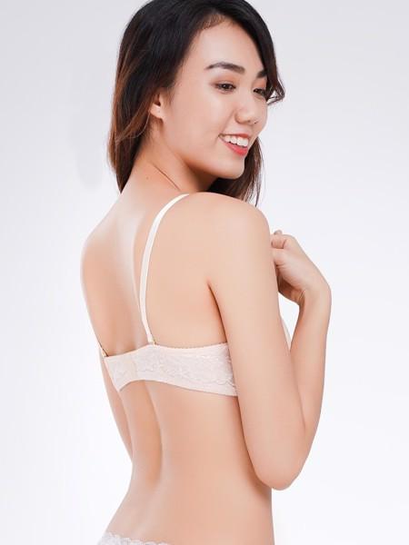 Áo ngực Misaki mút dày kiểu basic trơn - 9323
