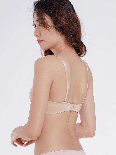 Áo ngực Misaki mút mỏng thoáng khí dáng trơn basic - 9327