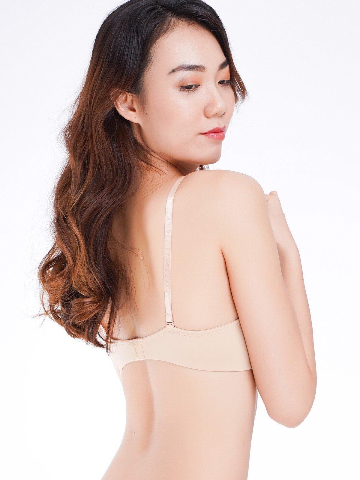 Áo ngực Misaki mút dày cúp trơn - 9328