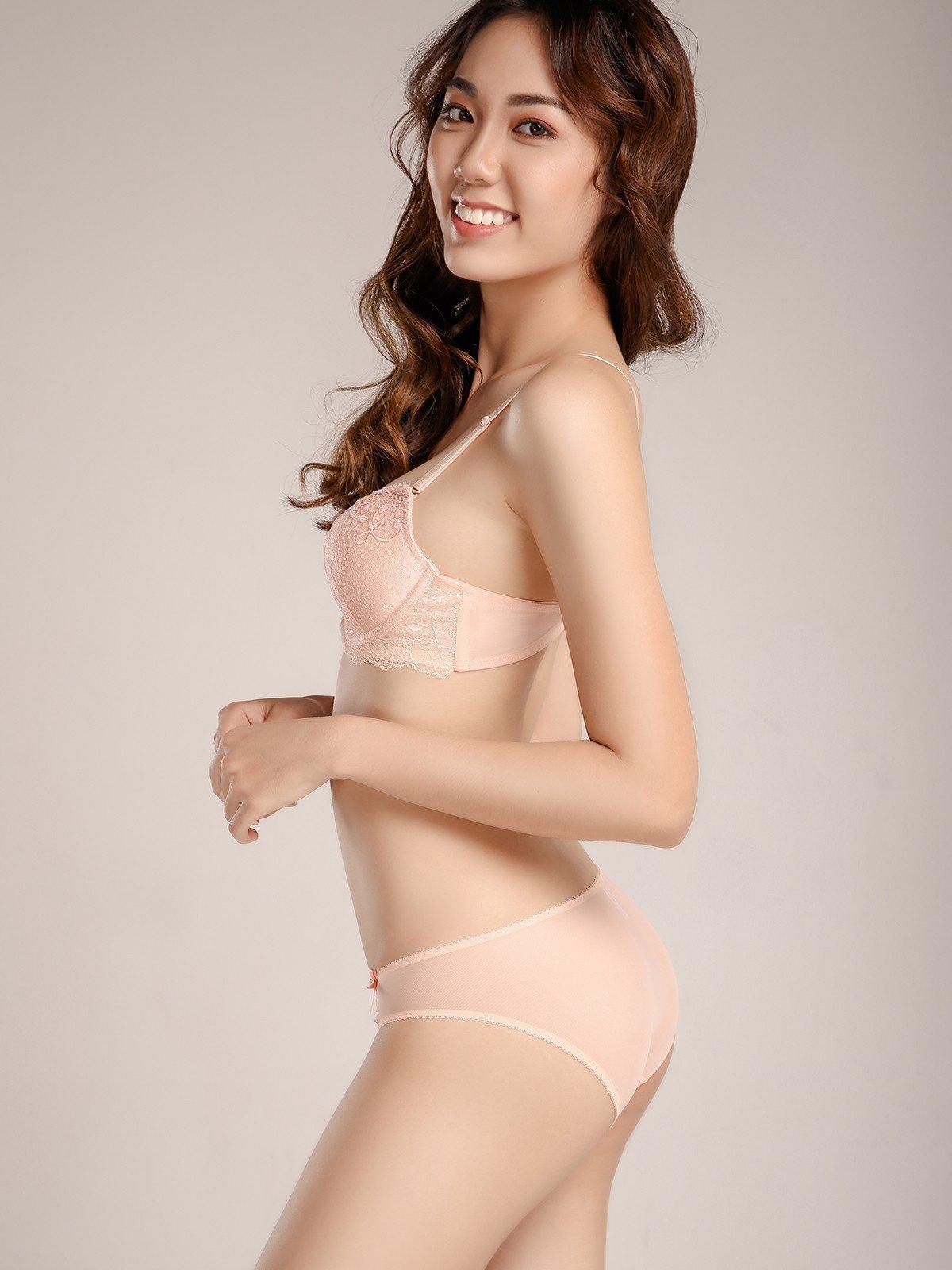 Quần lót VERA bikini lưới phối ren - 9341