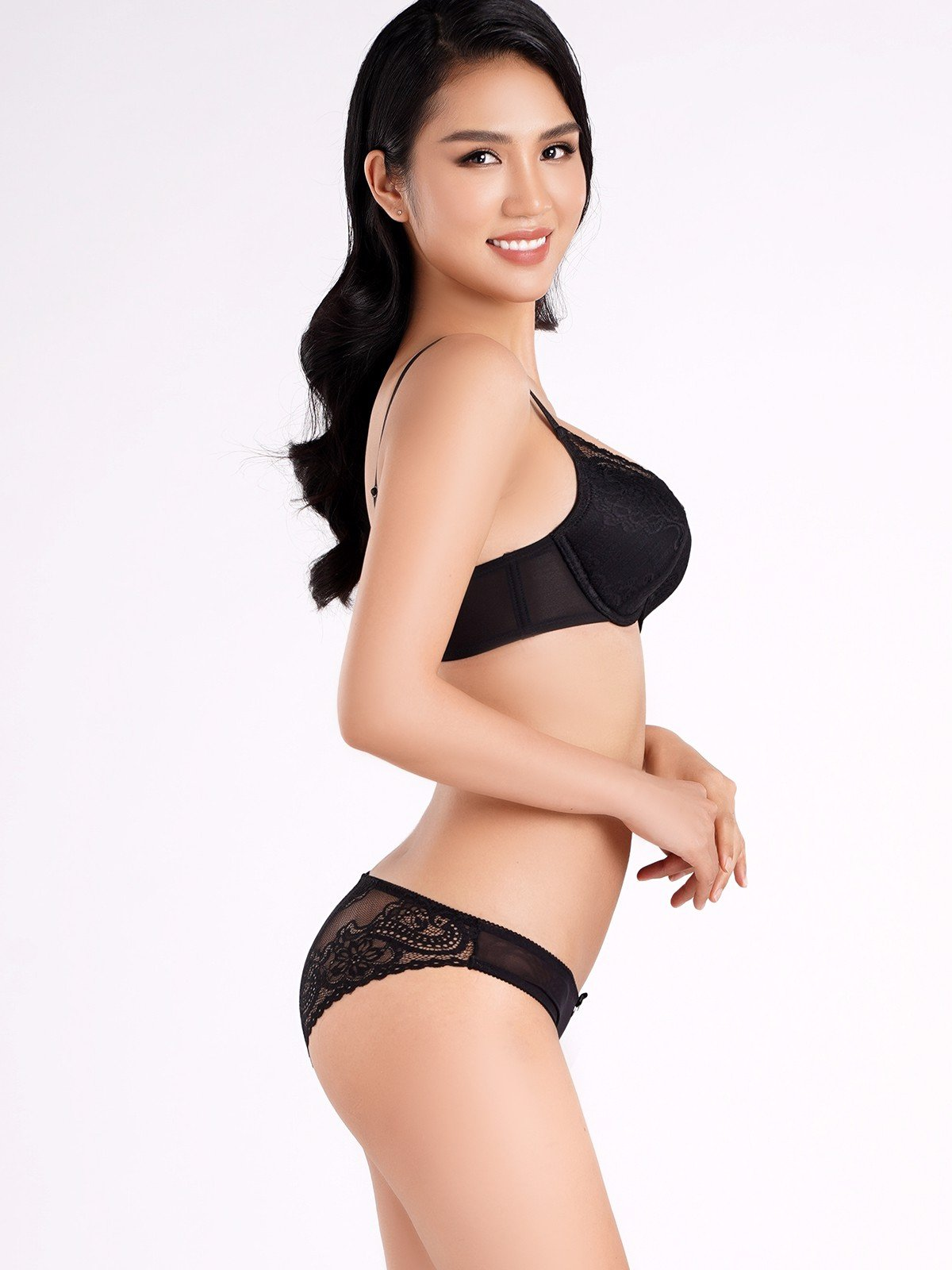 Quần lót VERA dáng bikini ren - 0109